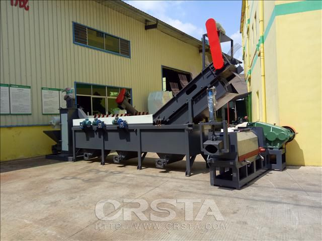 PE Film PP Bags Crushing Washing Recycling  production line